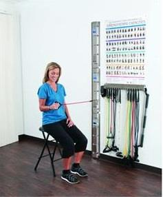 PrePak Web-Slide Exercise Rail Professional System