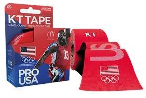 KT Tape Pro Team USA Red Olympic Elastic Sports Tape